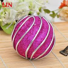 Decorated Styrofoam Balls Christmas decorate decoration 100cm rose red thread foam natal balls 29