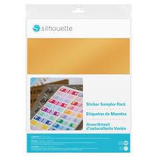 Набор самоклеящейся <b>пленки для наклеек</b> Silhouette - купить ...