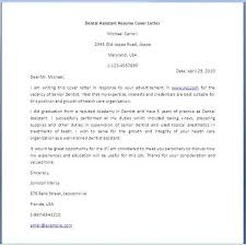 Dental Assistant Cover Letter Ideas Collection How To Write A Cover