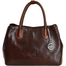medium italian leather handbag brn cognac 8106093