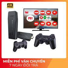 Game stick 4K] Máy Chơi Game 4 Nút HDMI Không Dây Hơn 3000 Trò Chơi - Máy  chơi game không dây - tích hợp 1000 games