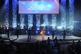 Screens Are Falling Down Church Stage Design Ideas