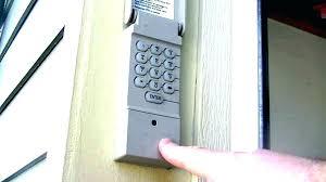 craftsman garage door opener keypad reset pad wont manual pdf