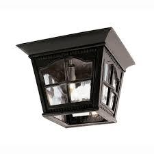 bel air lighting bostonian 3 light outdoor black flush mount fixture with water glass