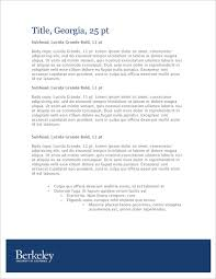 business documents brand guidelines memo