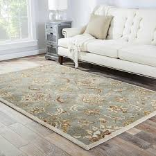 tested 4x8 outdoor rug coventry handmade fl blue tan area 4 x 8 free