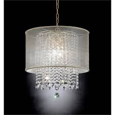 furniture of america beacon chandelier in gold