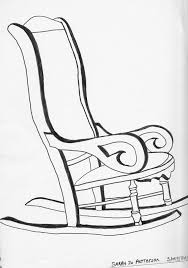rocking chair drawing. Unique Drawing Rocking Chair Drawing  By Sarah Hamilton In G