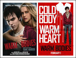 Book to Movie: Warm Bodies (Movie Trailer) | BLACKPLUME
