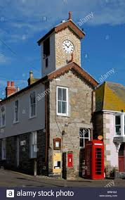 bellevue hill post office. The Old Post Office And Clock Tower At Mousehole,cornwall,uk - Stock Image Bellevue Hill