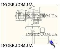 Примеры сборочных чертежей выполнение сборочных чертежей и схем  Пример сборочного чертежа для контрольной работы фото 1