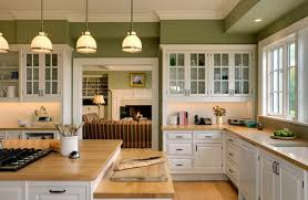 Small Picture Charming Painted Kitchen Cabinets With White Appliances 7665edit