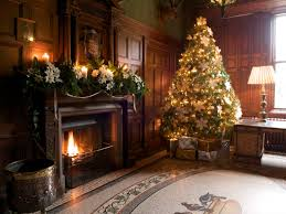 Living Room Decorating For Christmas Decorations Elegant Living Room Christmas Decoration Alongside