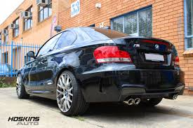 Coupe Series bmw 135i exhaust : BMW 135I 1M CUSTOM BODYKIT AND CUSTOM EXHAUST – Hoskins Auto