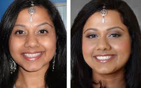 makeover for east indian bride