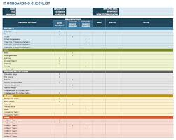 New Hire It Checklist Free Onboarding Checklists And Templates Smartsheet