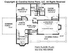 14 Best Ranch Style Homes Images On Pinterest  Architecture Aging In Place Floor Plans