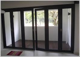 glass doors aluminium
