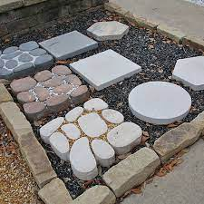 outdoor stepping stones landscaping