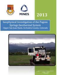 geophysics field camp 2013