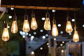 outdoor lighting with edison bulbs