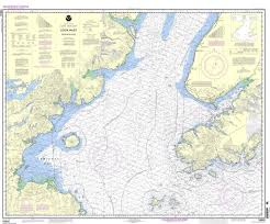 Budd Inlet Tide Chart Noaa Nautical Chart 16640 Cook Inlet Southern Part