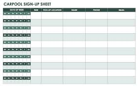 Name And Email Sign Up Sheet Template Free Sign In And Sign Up Sheet Templates Smartsheet