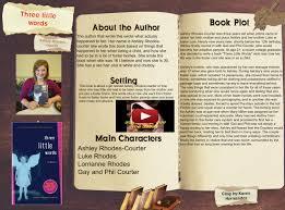 Book Report: Three Little Words: arts, ashley, ashley , book, courter, en,  Én, én, language, little | Glogster EDU - Interactive multimedia posters