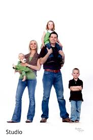Family Photo Fun White Background Family Picture Familia Naocleo De La Vida