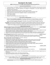 Resume Biomedical Engineering Pleasant Sample Resume For Freshers In Biomedical Engineering
