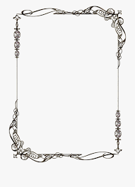 Frame For Word Pattern Scope 3 By Lyotta Frame Clipart Borders For Very