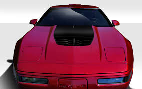 84-96 Chevrolet Corvette Stingray Z Duraflex Body Kit- Hood ...