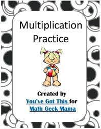 Multiplication Coloring Pages Easy Practice For Kids Free Need A