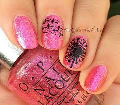 30 stunning pink and black nails