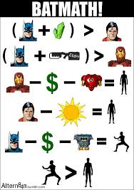 image of the day math proves batman is tougher than superman and iron man batman superman iron man 2