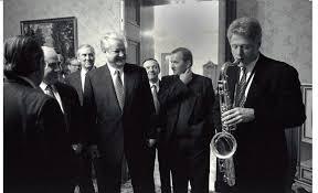 bill clinton writes jazz essay bill clinton and boris yeltsin 1994 bill clinton