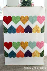 2367 best Scrap Quilt ideas images on Pinterest   Blankets, Jelly ... & Tula Pink Paper Hearts Quilt made with batiks. Auntie Ems Crafts Adamdwight.com