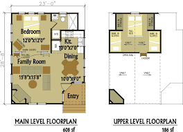 floor plans small cabin floorplan design