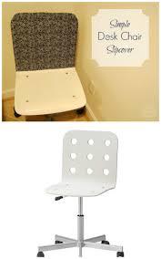 simple ikea desk chair slipcover