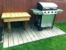 outdoor grill prep table stylish food station plans the best large size of buffet b with sink chill for green by stat