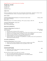 Resume Template Breathtaking Postdoc Resume Sample Template Front