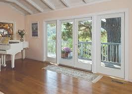 hinged patio doors interior view view of surrounding hillside