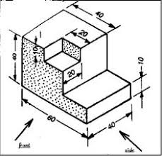 how to arrange and paper engineering drawing