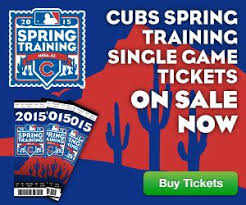 Get Your Chicagocubs Springtraining Tickets Now Click The