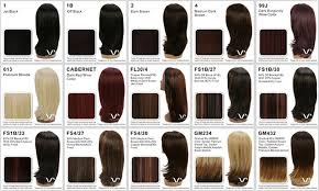 Lace Front Color Chart Vivica Fox Wig Color Chart Sbiroregon Org