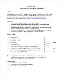How To Write An Agenda Of A Meeting Sample Of Agenda Magdalene Project Org