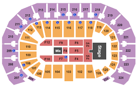 Intrust Bank Arena Seating Chart Garth Brooks Best Picture