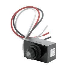 trinity lighting black wire in light sensor