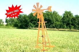 windmill yard ornaments lawn ornament art metal for garden outdoor stake windmills