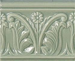 <b>Керамический бордюр Vallelunga</b> Rialto Vintage Blue Listello Flor ...